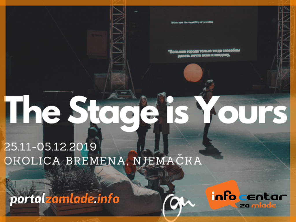 The stage is yours 2
